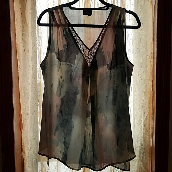 Mossimo Supply Co. Tops - watercolored top